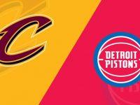 Cleveland Cavaliers vs Detroit Pistons