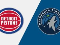 Detroit Pistons vs Minnesota Timberwolves