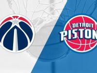 Detroit Pistons vs Washington Wizards