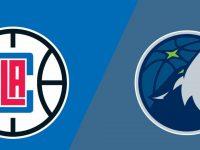 Minnesota Timberwolves vs LA Clippers