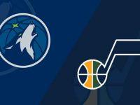 Minnesota Timberwolves vs Utah Jazz