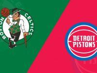 Boston Celtics vs Detroit Pistons