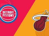 Detroit Pistons vs Miami Heat
