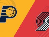 Indiana Pacers vs Portland Trail Blazers