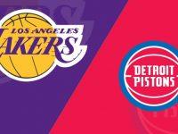Los Angeles Lakers vs Detroit Pistons