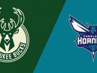 Milwaukee Bucks vs Charlotte Hornets