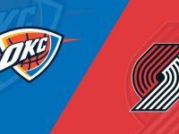 Oklahoma City Thunder vs Portland Trail Blazers