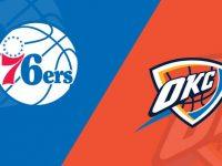 Philadelphia 76ers vs Oklahoma City Thunder