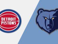Detroit Pistons vs Memphis Grizzlies
