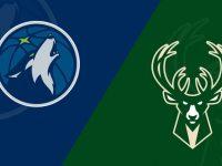 Minnesota Timberwolves vs Milwaukee Bucks