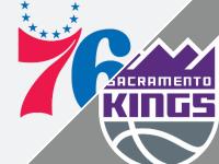 Philadelphia 76ers vs Sacramento Kings