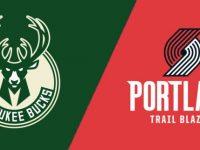 Portland Trail Blazers vs Milwaukee Bucks