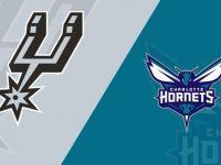 San Antonio Spurs vs Charlotte Hornets