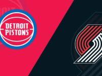 Portland Trail Blazers vs Detroit Pistons