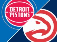 Atlanta Hawks vs Detroit Pistons