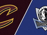 Cleveland Cavaliers vs Dallas Mavericks