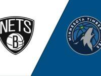 Minnesota Timberwolves vs Brooklyn Nets
